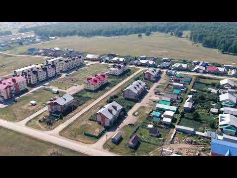 Видеосъемка с воздуха с. Киргиз-Мияки