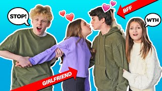 Letting My Best Friend Date My CRUSH for a day **24 HOUR CHALLENGE**💔🤦♂️|Lev Cameron Piper Rockelle