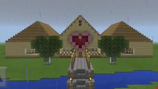 GamingWithJen's House in MCPE | My Minecraft Builds | Minecraft Creations