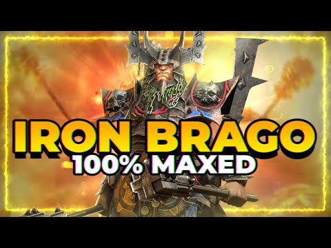 IRON BRAGO GUIDE! | Is he worth it?! | RAID Shadow Legends
