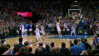 Tissot Buzzer Beater: Andrew Wiggins Hits Game-winning 3 in OKC! l October 22, 2017