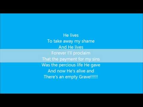 Nicole C Mullen My Redeemer Lives Lyrics Chords Chordify