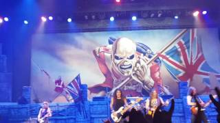 Iron Maiden - The Trooper Live @ MEO Arena 11-07-2016