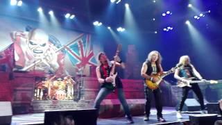Iron Maiden - The Trooper  Live at Festhalle Frankfurt 29.04.2017