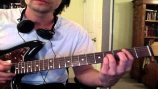 "Guitar Lesson: ""The Hardest Button to Button"" by the White Stripes - Easy / Beginner Tutorial"