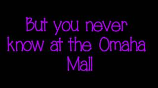 Justin Bieber Omaha Mall Lyrics On Screen