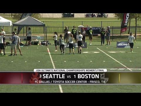 Video Thumbnail: 2015 National Championships: Women's Final: Boston Brute Squad vs. Seattle Riot