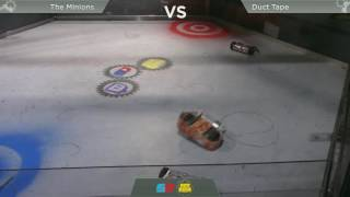 Robot Fight Night - Quarter Finals - Duct Tape vs The Minions
