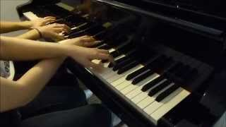 Wrapped Up - Olly Murs feat. Travie McCoy - Piano Cover four hands