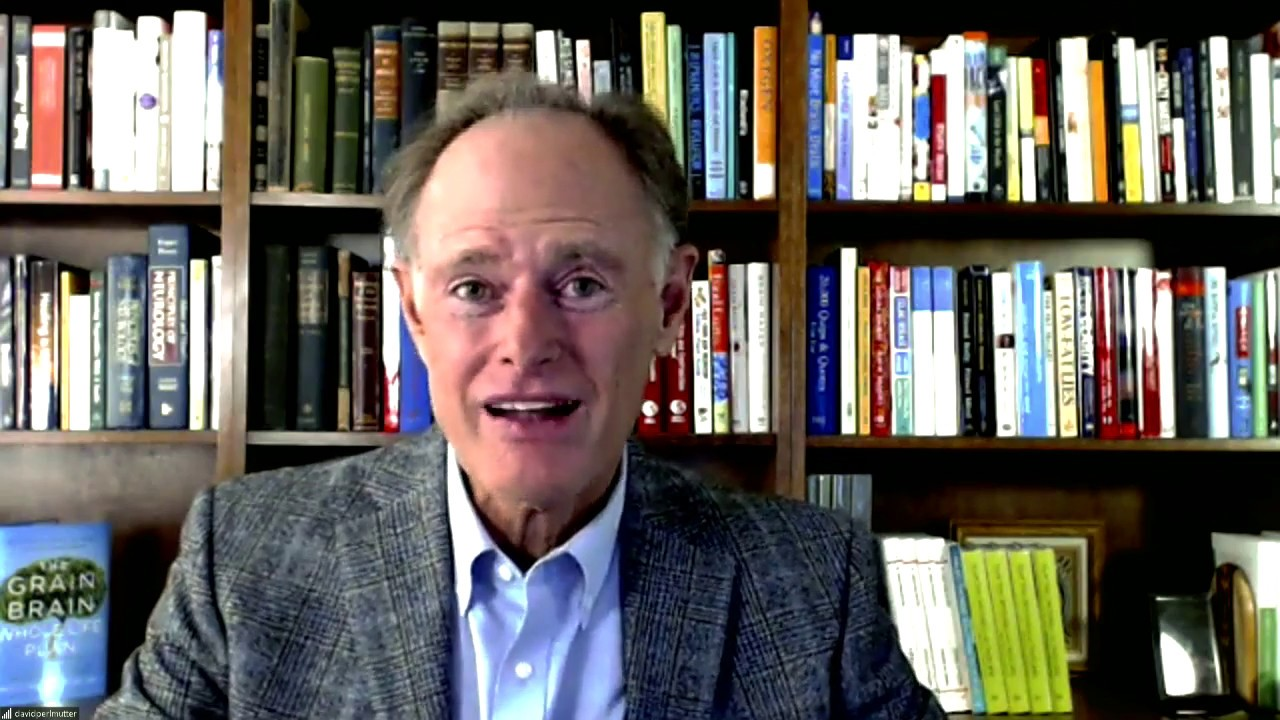 Dr. David Perlmutter,  – How to grow new brain cells today