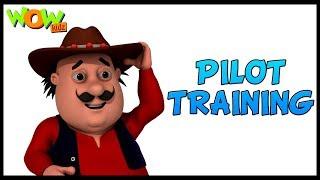 Motu Patlu   Animated Series   Motu Patlu Cartoons   Pilot Training   Wow Kidz