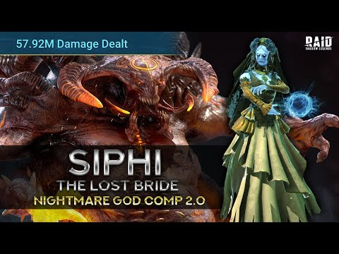 Siphi the Lost Bride the Queen of Clan Boss I Raid Shadow Legends