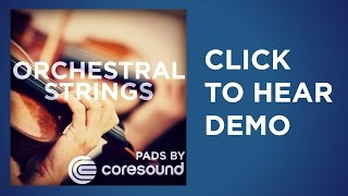 Orchestral Strings Worship Pads
