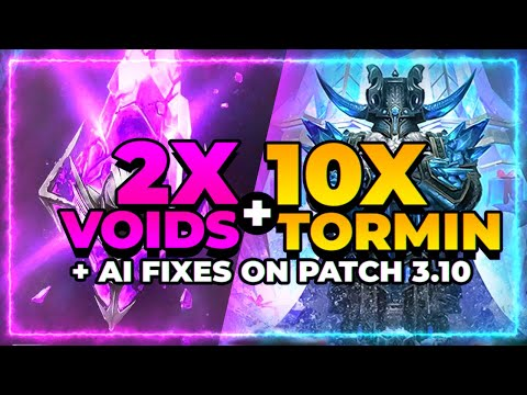 TORMIN 10x?! | 2x VOIDS! | AI FIXES! | RAID Shadow Legends