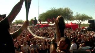 Unearth on Rockstar Energy Drink Mayhem Festival part 1
