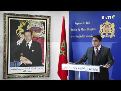 """Video : Nasser Bourita : """"La résolution 2440 préserve tous les acquis du Maroc"""""""
