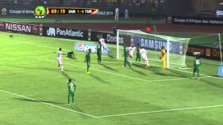 Zambia vs Tunisia 1:2 (AFCON 2015)