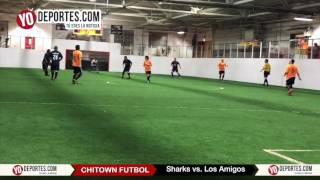 Sharks vs. Los Amigos Veterans Open League Chitown Futbol