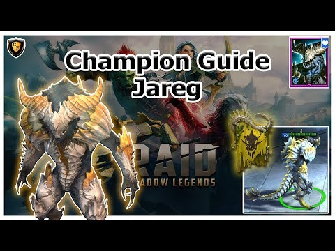 RAID Shadow Legends | Champion Guide | Jareg