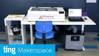 Intro to Full Spectrum Hobby Laser | Ting Makerspace
