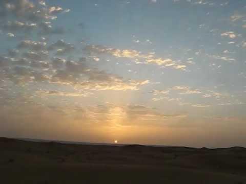 Sunrise at Erb Chebbi, Morocco