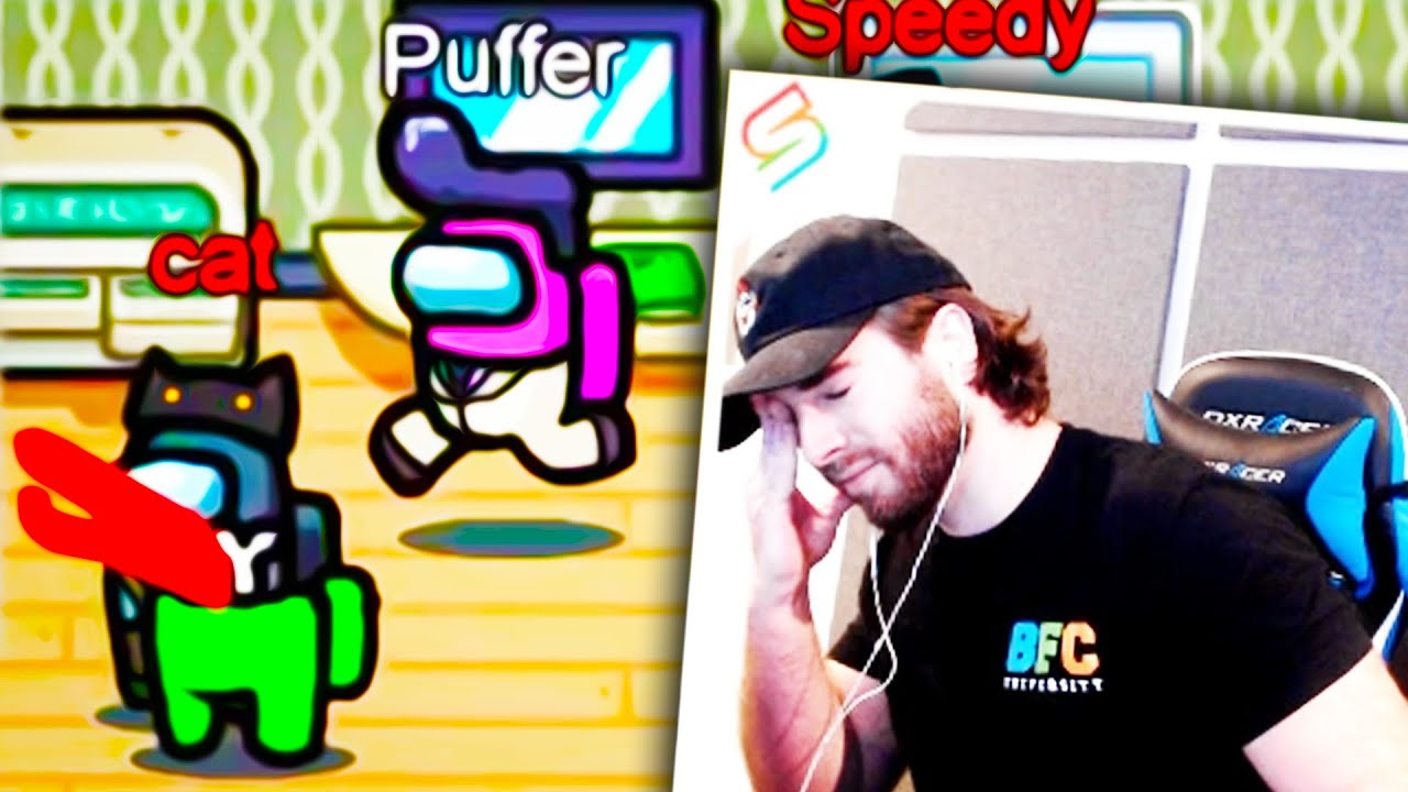 """KYR SP33DY - """"IT'S 100 PERCENT WIL-"""" (Among Us Impostor Gameplay)"""