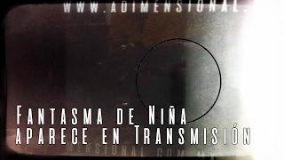 Perturbador Fantasma de Niña en Transmisión en Vivo (Video Paranormal)