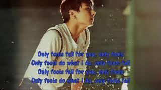 Duet with Jungkook (Karaoke) - Fools (Troye Sivan) Instrumental + Lyrics