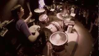 Mic Test Azden SMX-10: Levi Drumming, Sunday Night Live March 4th, 2012
