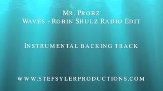 Mr. Probz - Waves (Robin Shulz Radio Edit) Backing Track Instrumental