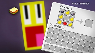 Minecraft | How to make a Smiley Banner