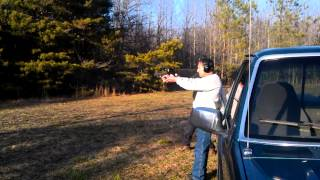 Glock 9 and the Bersa 45