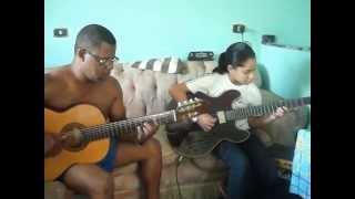 Isabela interpretando musica de Ivan Lins