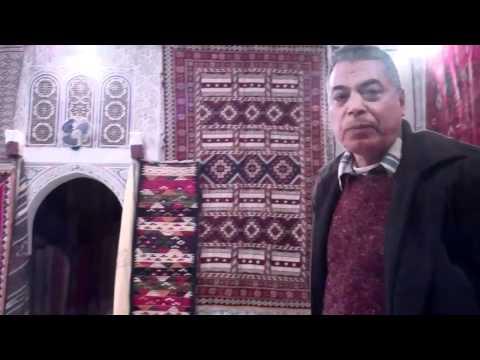 Carpet Seller in Marrakech Morocco