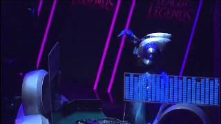 League of Legends TBF 2015 Açılış - DJ Sona