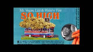 Mr Vegas ft Walshy Fire & Lizi - So High (Lyrics CC)