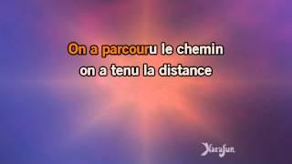 Karaoké Le chemin - Kyo *