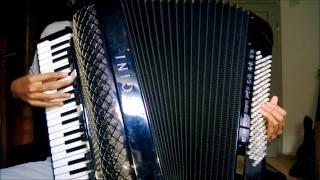 [Hanayamata OP] - Hanaha Odori Reya Iroha ni Ho - accordion