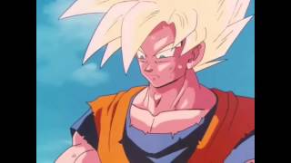 Gohan SSJ2 training with Cell ... (Japanese, French subtitles).