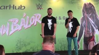 Finn Balor in Singapore 10062017