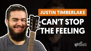 videoclase Can't Stop The Feeling (aula de violão completa)