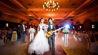 เปิดตัวเจ้าบ่าวเล่นกีตาร์สุดโรแมนติก  Canon in D Wedding Min & Nut