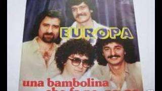 Europa - Una Bambolina che fa no no