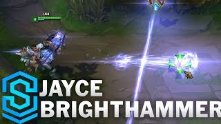 Jayce Brighthammer Skin Spotlight - Pre-Release - League of Legends