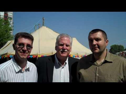 Miracle Evangelist Dr. Kevin McNulty with Eurasian Evangelists!