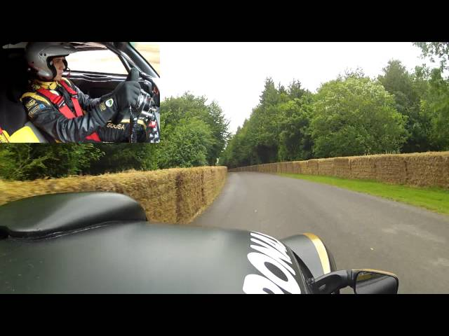 [HD] Exige R-GT climbs the hill at the 2012 Goodwood Festival of Speed - Bernardo Sousa