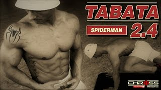TABATA 2.4 | Spiderman | Mountain Climbers| Hold | Bodyweight | Fitness | 4 MINUTES | HIIT Workout