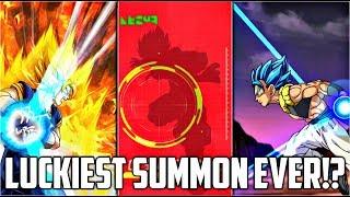 NO WAY! MY LUCKIEST SUMMON IN DOKKAN BATTLE!?   Dragon Ball Z Dokkan Battle  Blue Gogeta Summons!