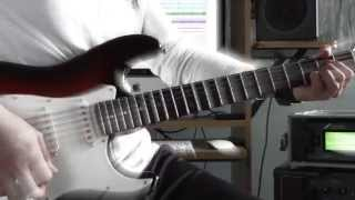 Poison - Nothing But A Good Time - Guitar performance by Cesar Huesca