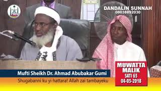 Sheikh Ahmad Gumi Criticized Governor Ganduje Over His Daughter's Wedding width=